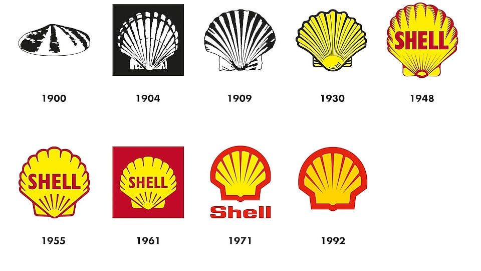 Brand simplicity - a trend or simple evolution? Shell evolution