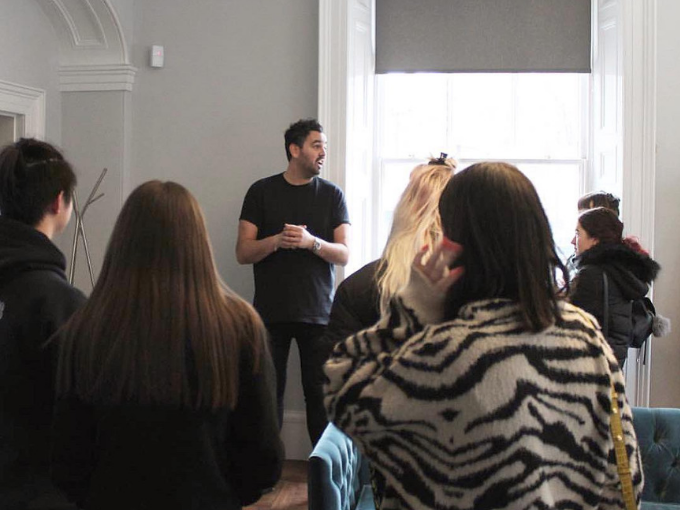 Hosting Northern School of Arts Graphic Design students at our studio | Investing in the Tees Valley's future