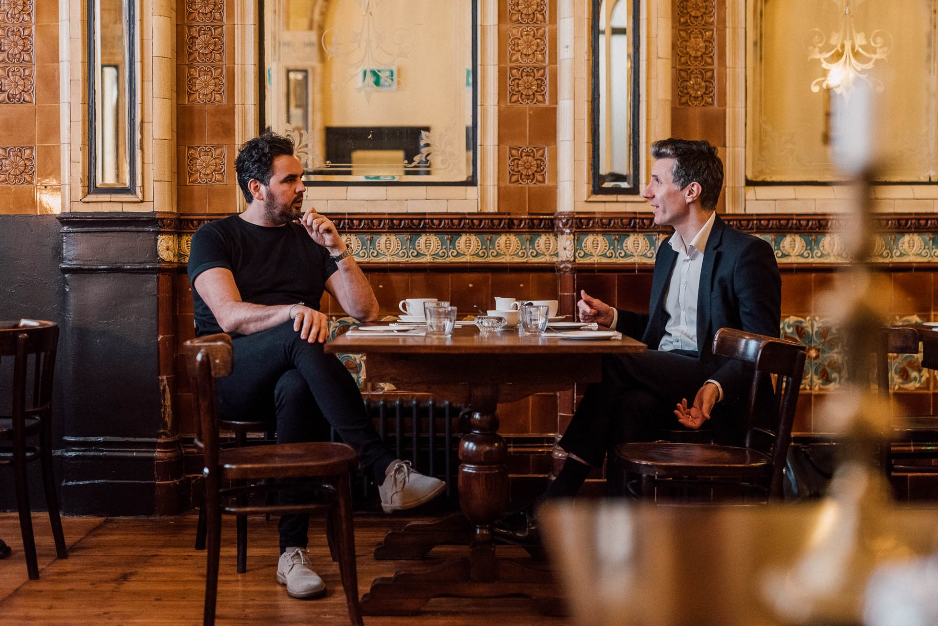 Mark and Jonathan at The Zetland Hotel | The strategy of brand strategy